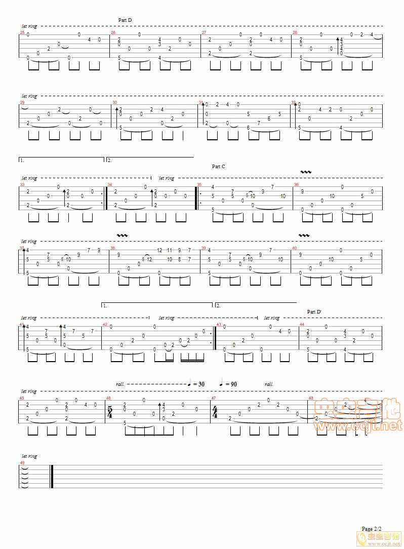 Miracle Mountain by Masaaki Kishibe SOLO Guitar Tabs Chords Notes Sheet Music Free